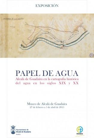 Cartel Exposición Papel del Agua