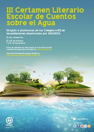 Cartel III Concurso Literario Infantil