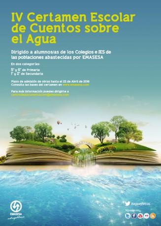 Cartel IV Concurso Literario Infantil