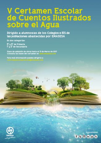 Cartel V Concurso Literario Infantil