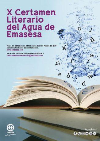 X Certamen Literario del Agua de Emasesa