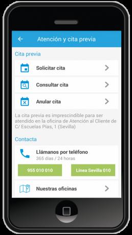 App mi emasesa emasesa for Oficina de treball cita previa