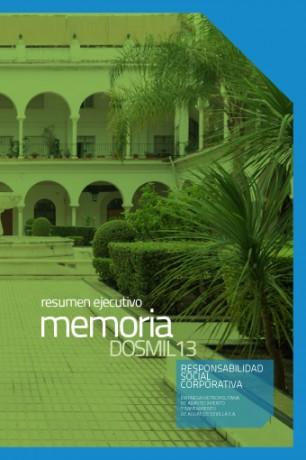 Versión Ejecutiva Memoria RSC 2013-1