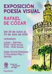 Exposición Poesía Visual en homenaje a Rafael de Cózar