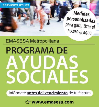 Campaña Ayudas Sociales EMASESA