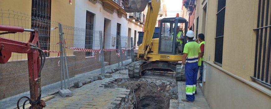Obra EMASESA Calle Almonacid
