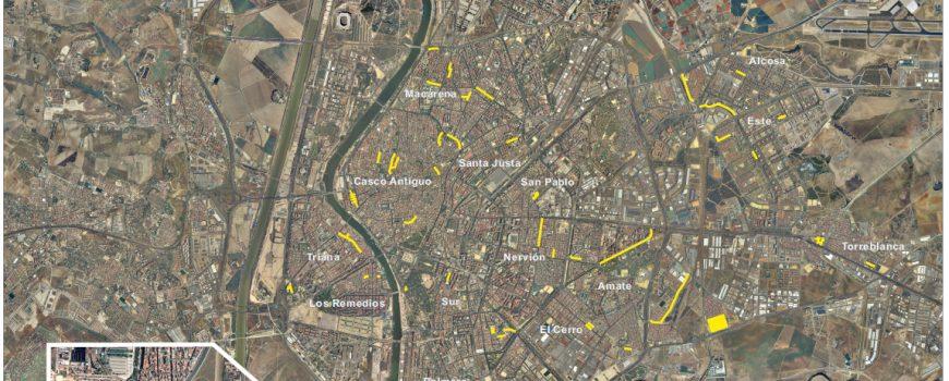 Actuaciones del Plan 2016-2017. Sevilla Distritos