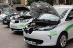 Presentación nueva flota de vehículos eléctricos de EMASESA