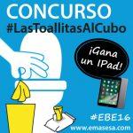 EMASESA celebra un concurso en la XI edición del EBE para promover su campaña #LasToallitasalCubo