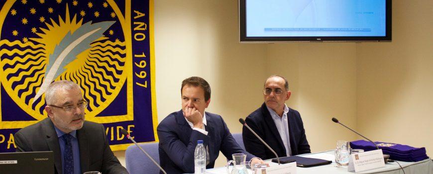 EMASESA participa en el acto de clausura de la VII edición del Máster en Sistemas Integrados de Gestión en la UPO