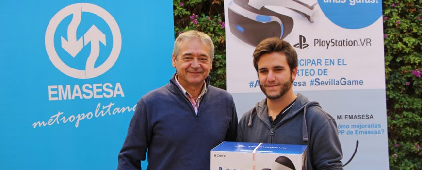Entrega Premio Concurso #AppEmasesa - SevillaGame