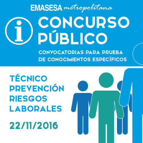 Fecha Examen Conocimiento Comunes. Concurso Público PRL