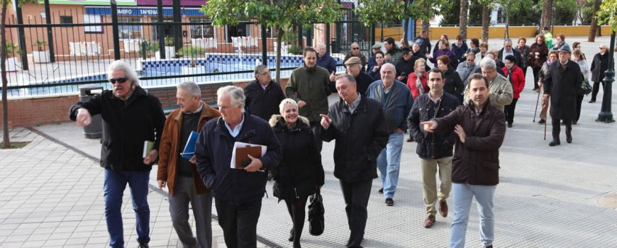 Visita Depósito Pluviales. Alcalá de Guadaíra