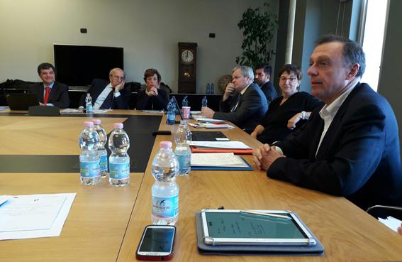 Intervención Consejero Delegado EMASESA. Consejo de Administración de Aqua Publica Europea