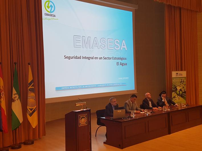 El JEfe de Servicios Generales de EMASESA en la III Jornadas APROSIP