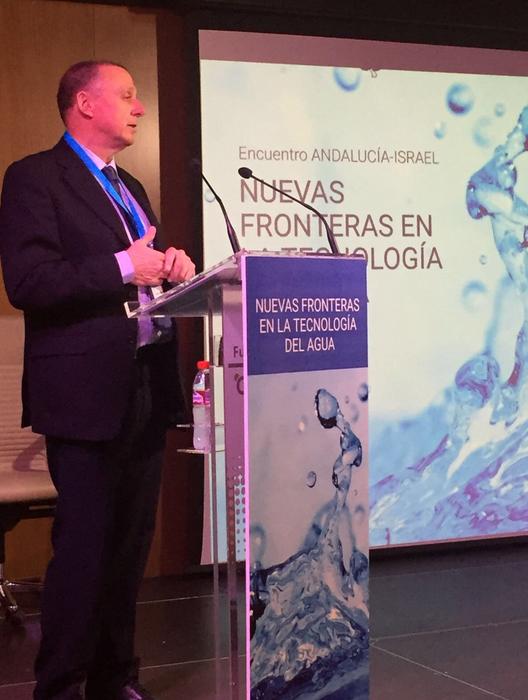 Intervención Consejero Delegado de EMASESA en el Encuentro Nuevas Fronteras en la Tecnología del Agua