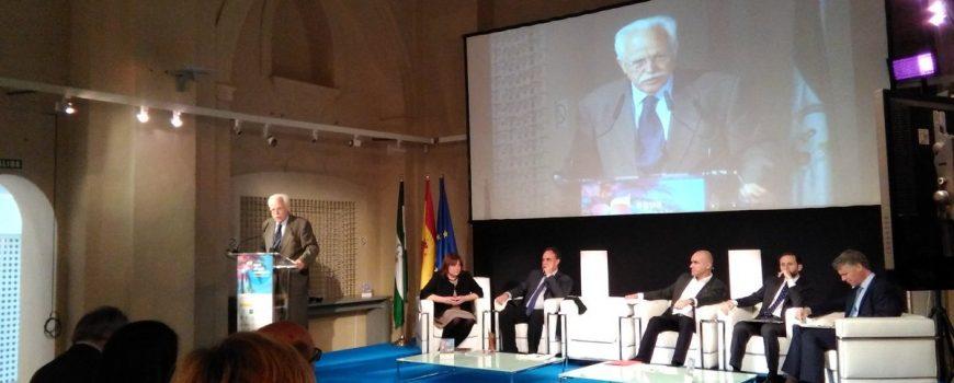 Intervención Vicepresidente de EMASESA, Joaquín Castillo, en la sesión inaugural de la I Jornada Agua, Paisaje y Ciudadanía