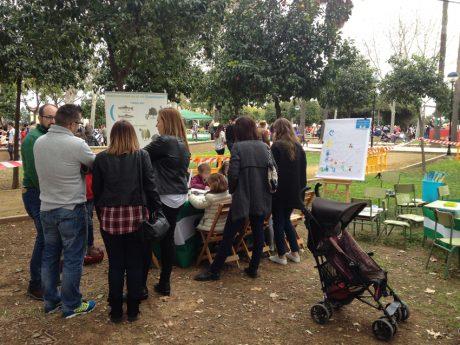 Talleres de EMASESA en el Día de Andalucía en San José de La Rinconada