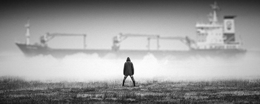 Premiado II Concurso Instagram #TuAgua. @jadogaphotoart Navegante entre nieblas