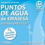 EMASESA reparte casi 80.000 vasos de agua durante la Semana Santa