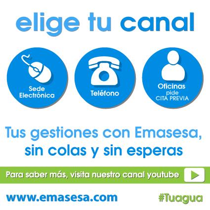 Canales Atención EMASESA