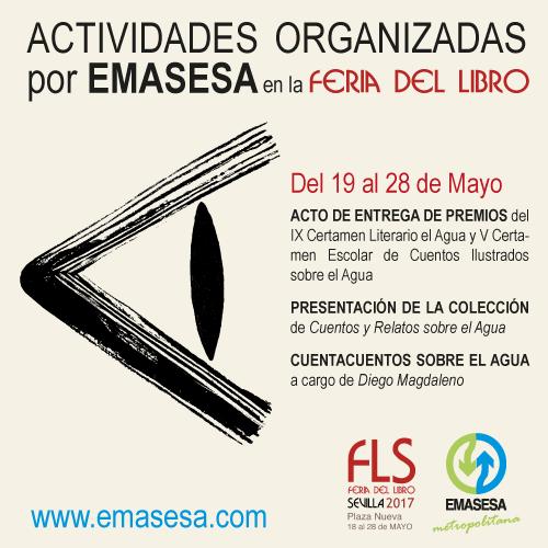 Actividades EMASESA Feria del Libro 2017