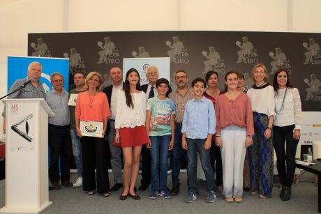 Acto Entrega Premios Certámenes Literarios de EMASESA en la Feria del libro