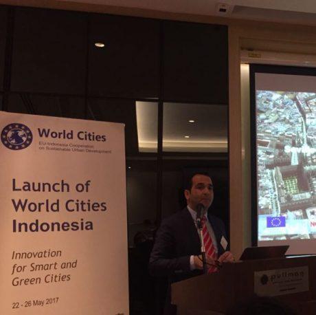 Darío Mauriño, jefe del área territorial de Alcalá de Guadaíra interviene en el proyecto World Cities