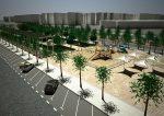 EMASESA comienza las obras de construcción del depósito de retención de Kansas City en el Distrito Nervión San-Pablo