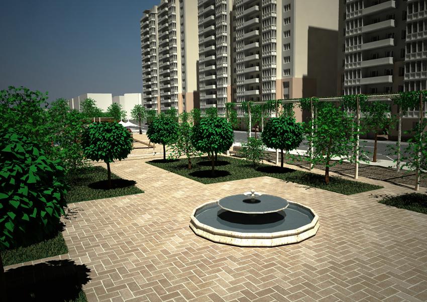 proyecto de construcción del depósito de retención de Kansas City en el Distrito Nervión-San Pablo