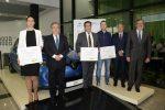 """EMASESA recibe el premio a la mejor práctica en movilidad sostenible en la categoría """"Mejor Estrategia Pública"""""""