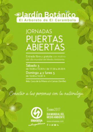 Programa Jornadas Puertas Abiertas de EMASESA. Día Mundial del Medio Ambiente