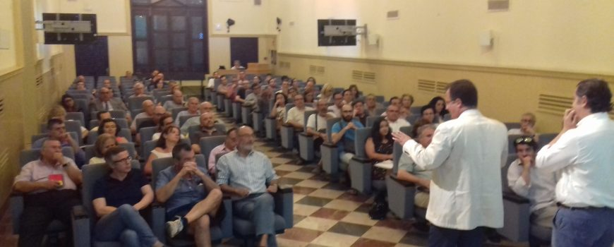 Reunión Vecinos Calle Matahacas en la Sede Social de EMASESA