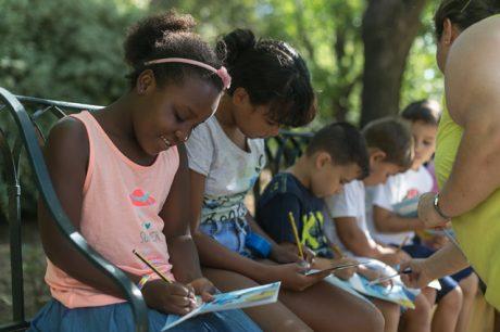 Visita Jardín Botánico Arboreto Grupo Niños y Niñas Saharauis