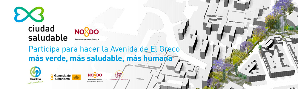 Banner Proyecto Ciudad Sostenible Avda  El Grego EMASESA