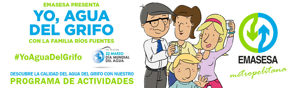 Banner Yo Agua del Grifo - Actividades DMA Web
