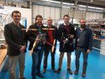 EMASESA desarrolla un proyecto de I+D para la inspección de colectores de saneamiento con drones