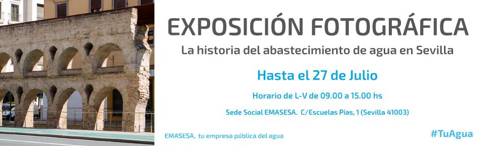 Banner Exposición Historia Abastecimiento
