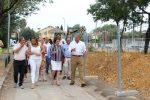 El Ayuntamiento inicia obras de mejora en la calle Automoción  del Polígono Calonge por 2,6 millones en el marco de su estrategia de impulso a los parques empresariales de la ciudad que sumará 7,4  millones de presupuesto este año