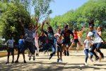 Niños saharauis del Proyecto Vacaciones en Paz visitan el Jardín Botánico El Arboreto y la Estación de Ecología Acuática