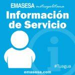Emasesa ha adjudicado por la vía de urgencia las obras de sustitución de un tramo del colector S-320 de la avenida Luis Uruñuela, en Sevilla, tras el colapso de la red a la altura del viaducto de la red ferroviaria