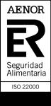 Certificado AENOR ISO 22000