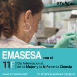 Emasesa subraya la importancia de la Mujer y la Ciencia más allá del 11 de febrero