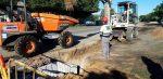 Emasesa reanuda la instalación de un sistema de drenaje sostenible en la avenida de Séneca que aportará riego natural al Parque de Tamarguillo