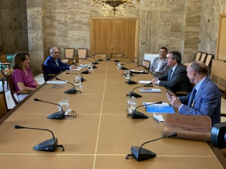 Reunión con la vicepresidenta de Transición Ecológica