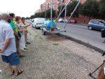 EMASESA continúa llevando a zonas de Sevilla sistemas de construcción más sostenibles para aprovechar el agua de lluvia, con la conclusión de las obras de la avenida de Séneca