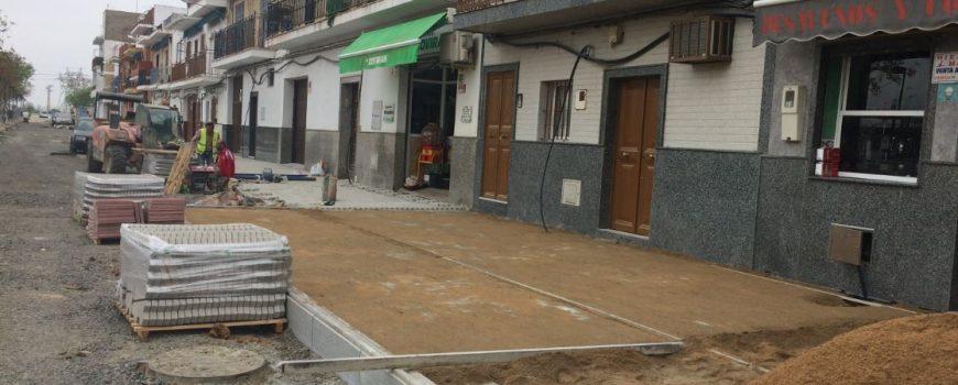 Obras de calle Torres Albas
