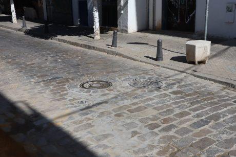 Conexión a redes de abastecimiento y saneamiento en calle Lumbreras