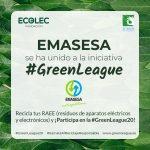 """Emasesa """"compite"""" un año más en la #GreenLeague para el reciclaje de residuos de aparatos eléctricos y electrónicos (RAEE)"""