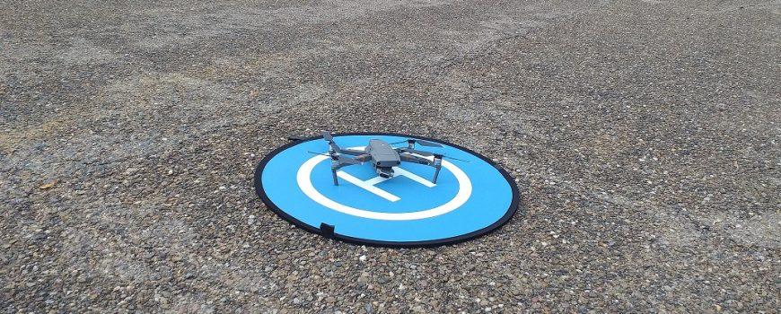 dron de vigilancia pantanos